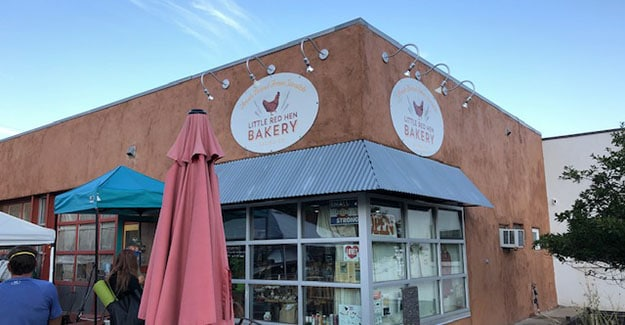 Red Hen Bakery in Salida Colorado