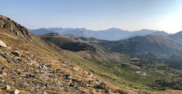 Colorado Trail Day 23 Gorgeous Views