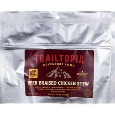 Trailtopia Beer Braised Chicken Stew