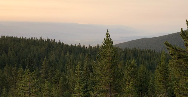 Smokey Views on the Colorado Trail in 2020
