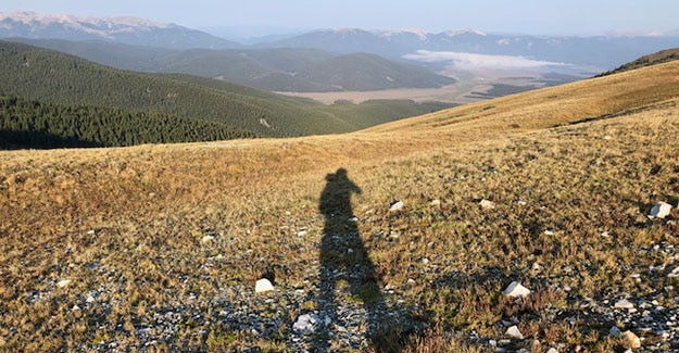 Me and my Walking Shadow Hiking the Colorado Trail
