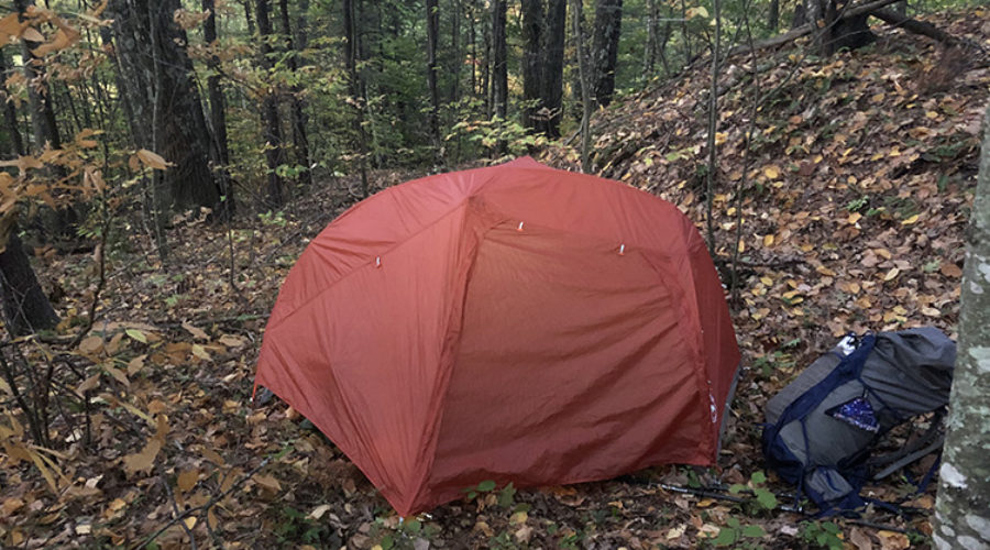 big agnes copper spur hv ul1 on the new england trail