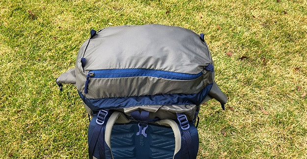 top lid for granite gear crown2 60 backpack