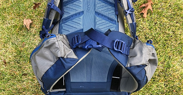 hip belt on crown2 60 backpack