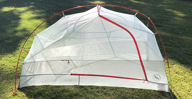Copper Spur UL1 Review Front View of Tent