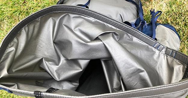 inside moisture resistant material