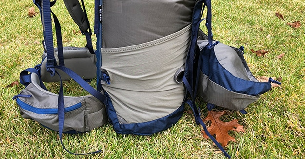 granite gear side pocket