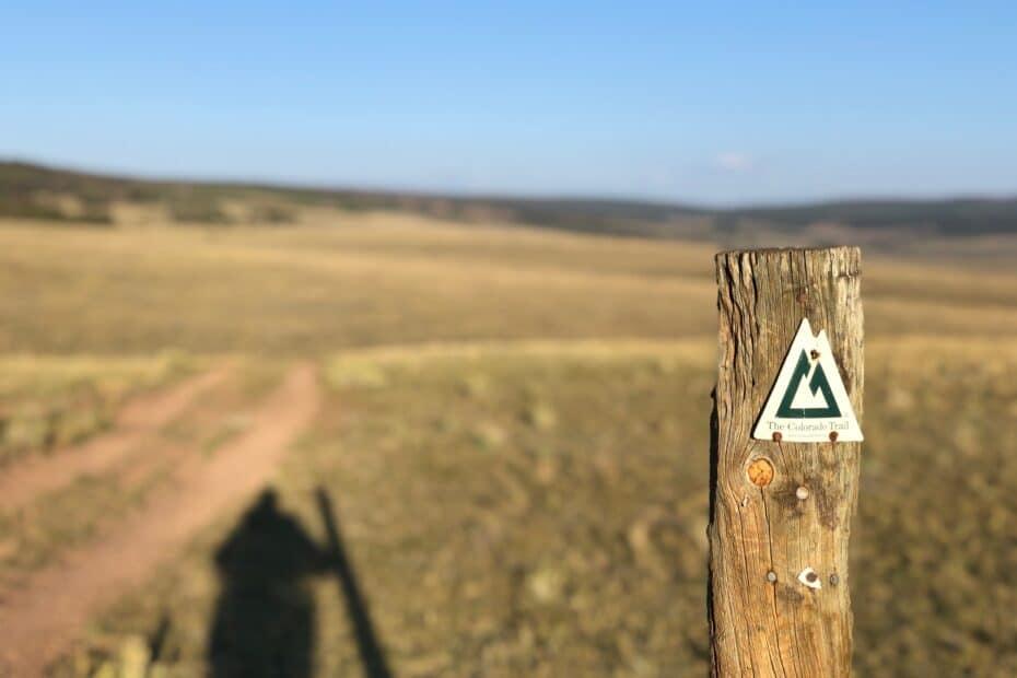 Colorado trail emblem