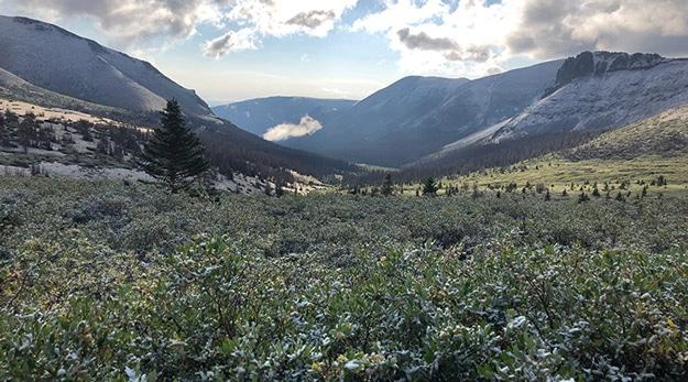 More views down through valley