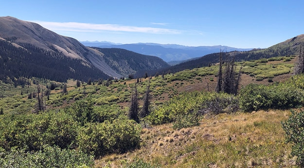 Another View Towards Creede