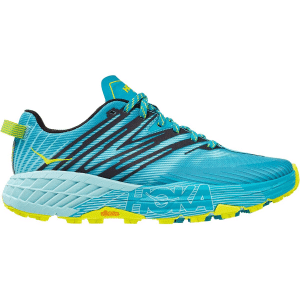Hoka one one speedgoat 4 is cushioned in one of 10 best trail running shoes