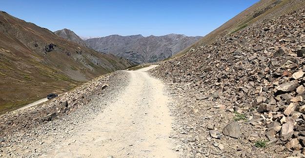 Stony Pass ATV Road Near Colorado Trail Day 34