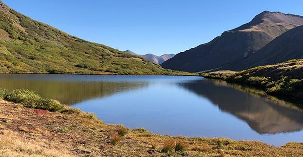 Small Lake Near the Divide