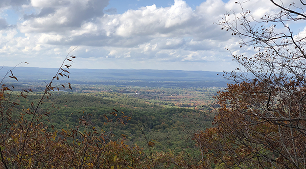 View from Long Mountain on the New England Trail