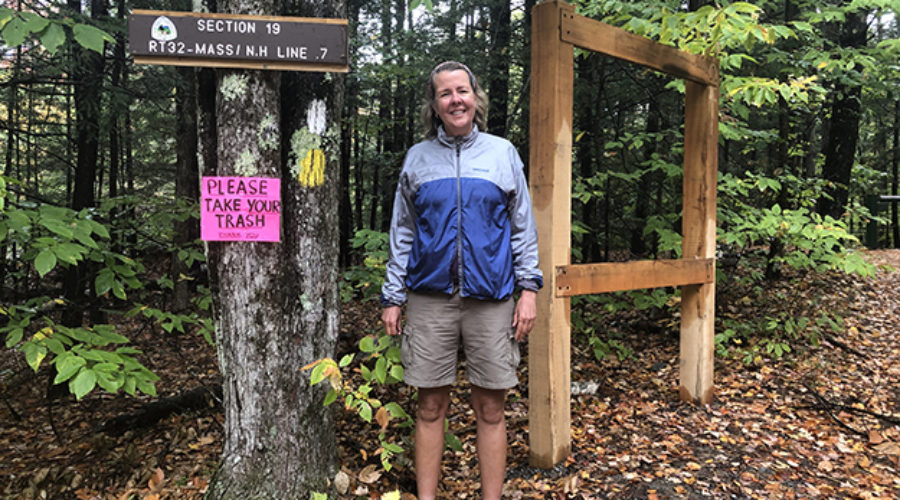 Average Hiker Trail Head New England Trail