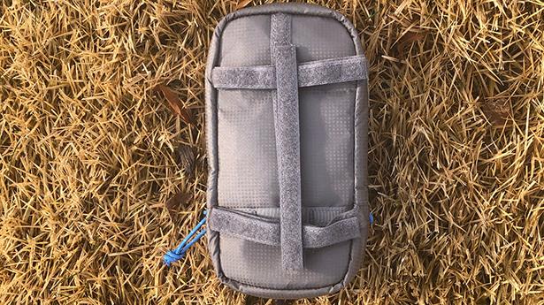 Back Velcro Shoulder Strap Pocket