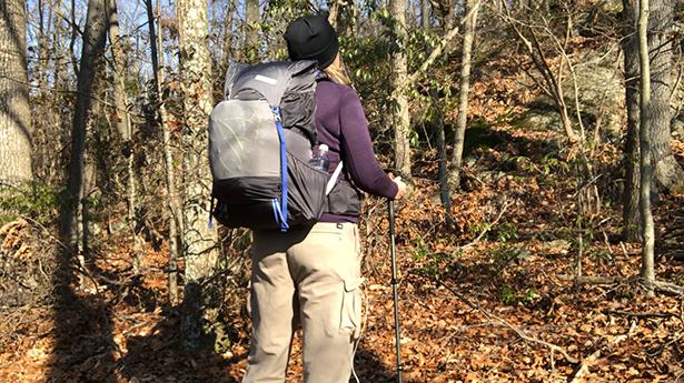 Gossamer Gear Mariposa 60 is a comfortable pack on hiker