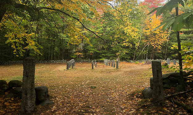 cemetary northern terminus new england trail