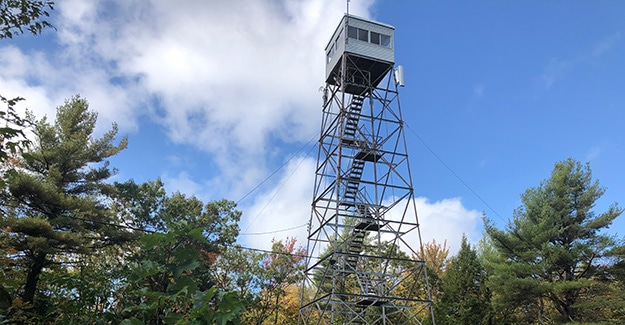 Fire Tower on Mount Grace