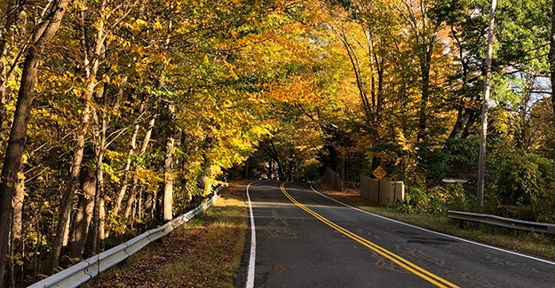 Gulf Road on the New England Trail