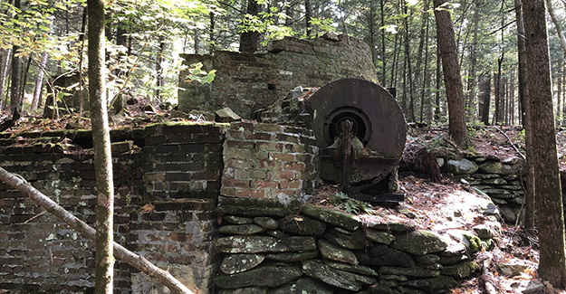 History Along the New England Trail Backpacking