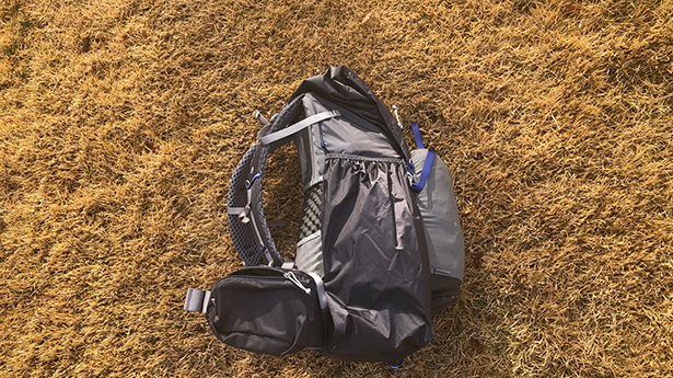 One Large Exterior Pocket on Gossamer Gear Mariposa 60