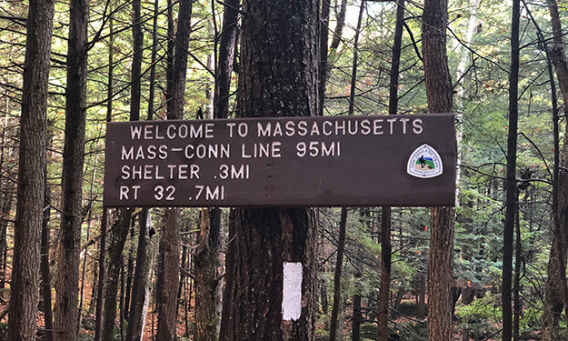 Mass and Conn state line