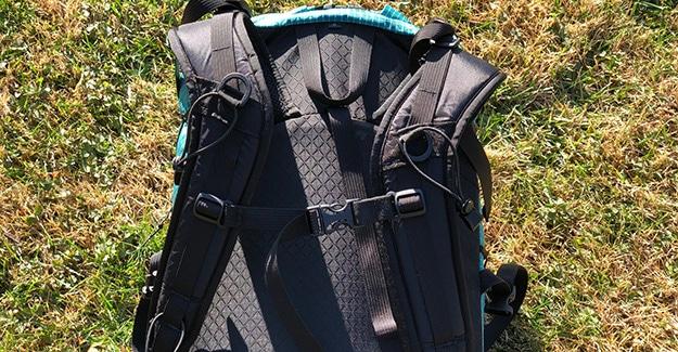 ULA Ohm 2.0 pack straps