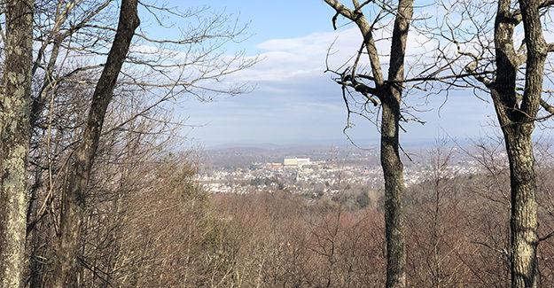 View of Danbury from Thomas Mountain