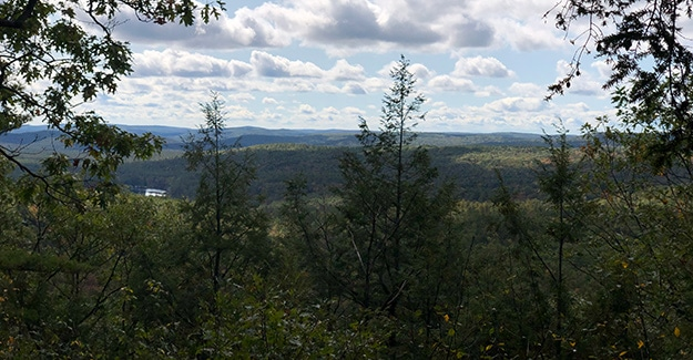 Views from Little grace Mountain