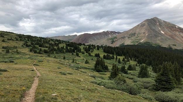 CDT in Colorado Near Georgia Pass
