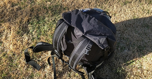Junction Backpack Top View
