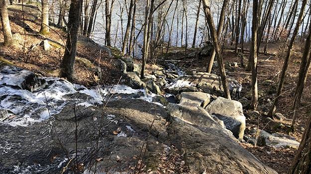 Prydden Brook Water Fall