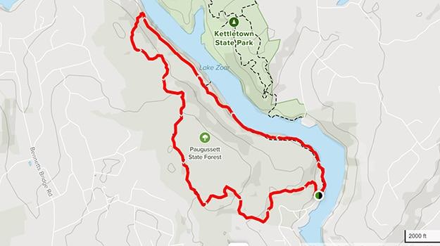 Zoar Trail Map