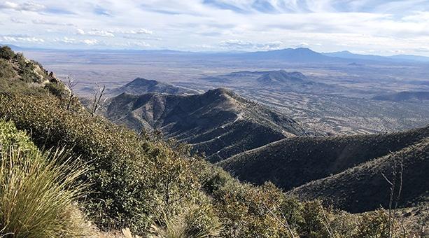 Beginning of the Arizona Trail