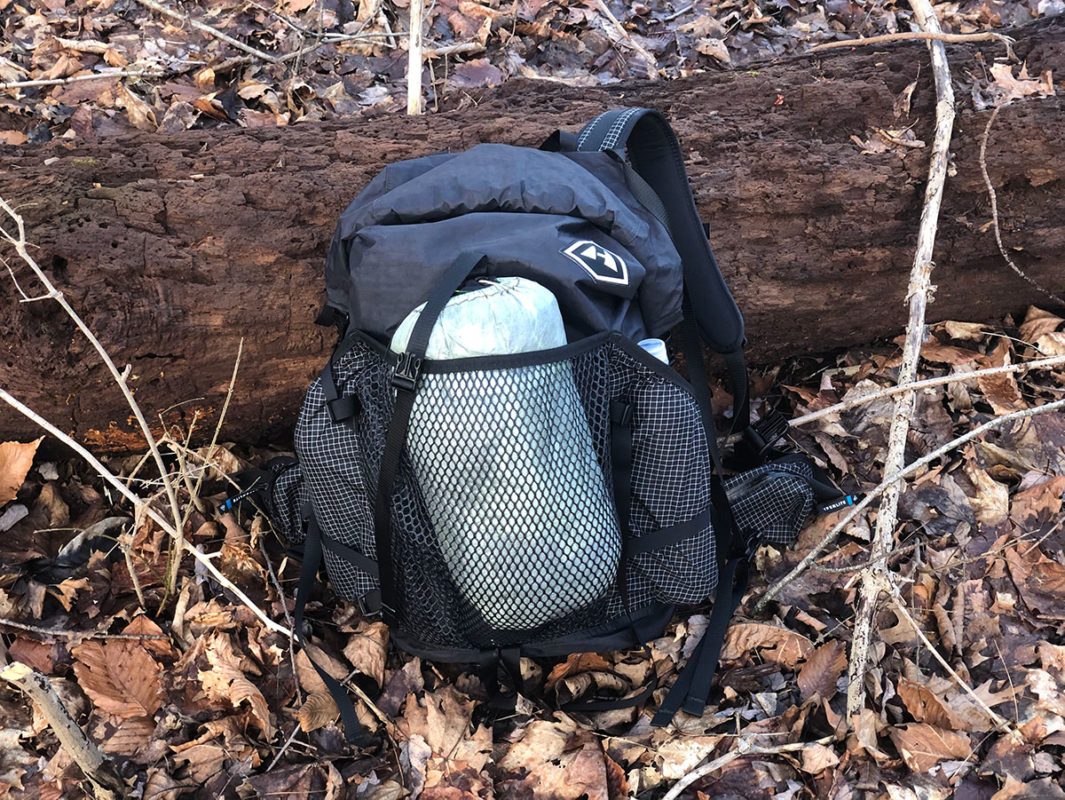 Hyperlite Junction Backpack on the Benton Mackaye Trail