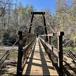 bridge on the benton mackaye trail