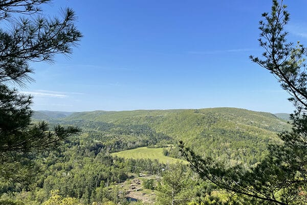 Housatonic Valley Views from Mohawk Trail