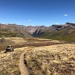 Colorado Trail Through the San Juans