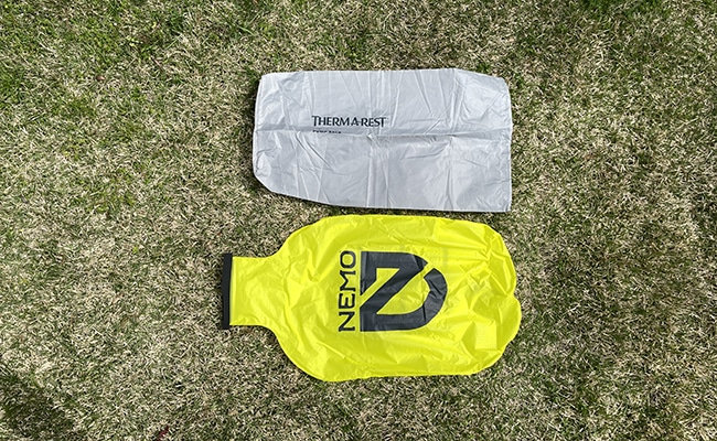 Pump Sack Bags Side by Side