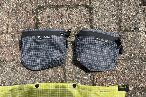Hipbelt pockets for the pack