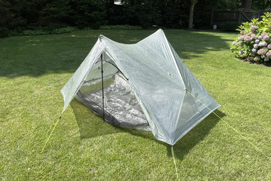 Duplex Tarp Tent is a great ultralight 2P Backpacking shelter