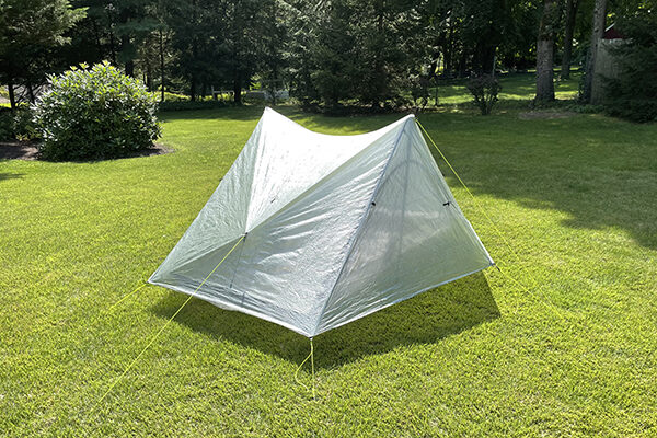 Exterior view of the Duplex Zpack shelter